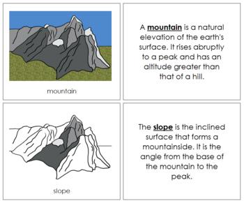 Mountain Nomenclature Book