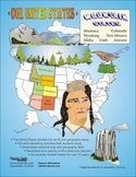 Mountain States-'Our United States Series' 37-Pages Lesson Plans