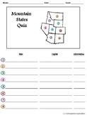 Mountain States Quiz