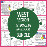 The West Region Interactive Bundle + AUDIO! (Mountain States & Pacific States)