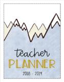 Mountain Theme Teacher Binder