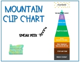 Mountain Themed Behavior Clip Chart COLOR VERSION