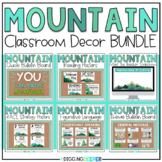 Mountain Nature Themed Classroom Decor BUNDLE