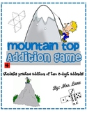 Mountain Top Addition Game! (Great Class or Small Group Activity!)