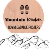 Mountain Wisdom Posters PDF