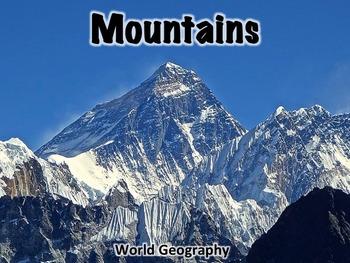 Mountains Powerpoint Presentation