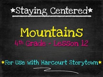 Mountains  4th Grade  Harcourt Storytown Lesson 12