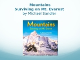 Mountains Saving Mt. Everest Interactive Vocabulary Lesson