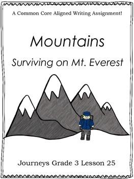 Mountains:  Surviving on Mt. Everest--Journeys Grade 3-Lesson 25