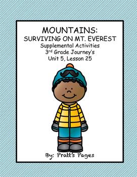 Mountains: Surviving Mt. Everest Supplemental Journey's Unit 5 Lesson 25
