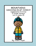 Mountains: Surviving Mt. Everest Supplemental Journey's Unit 5 Lesson 25