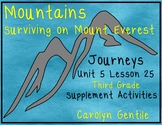 Mountains Surviving On Mt. Everest Journeys Unit 5 Lesson 25 Third grade