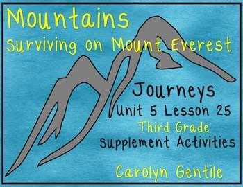 Mountains Surviving On Mt. Everest Journeys Unit 5 Lesson 25 Third grade