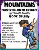 Mountains: Surviving on Mount Everest Book Study: Organizers and Notebook Pages