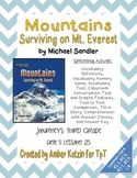 Mountains: Surviving on Mt. Everest Mini Pack 3rd Gr Journeys Unit 5, Lesson 25