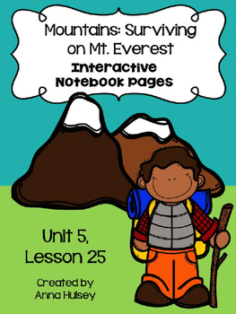 Mountains: Surviving on Mt. Everest (Interactive Notebook)