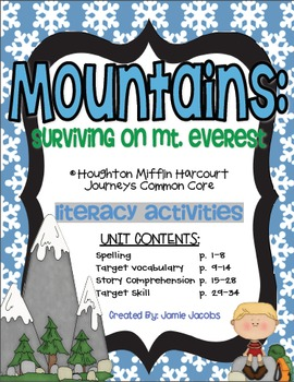 Mountains: Surviving on Mt. Everest (Materials)