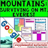 Mountains: Surviving on Mt. Everest Journeys 3rd Grade Lesson 25 Google Drive