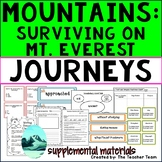 Mountains: Surviving Mt. Everest Journeys 3rd Grade Unit 5 Lesson 25 Activities