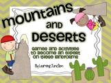 Mountains and Deserts Landform Pack