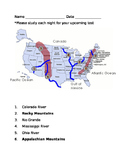 Mountains and Rivers Study Guide