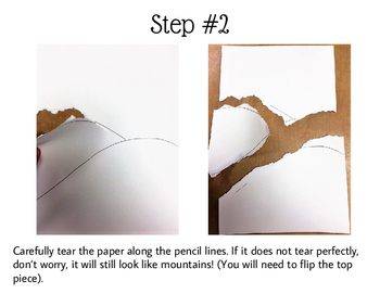 Mountains in the Moonlight: A Watercolor Painting Activity for Kids!