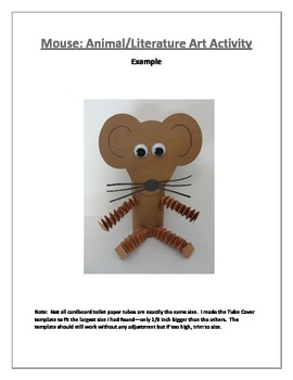 Mouse: Animal/Literature Art Activity
