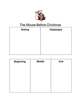 Mouse Before Christmas