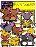 Mouse Buddies {Creative Clips Digital Clipart}