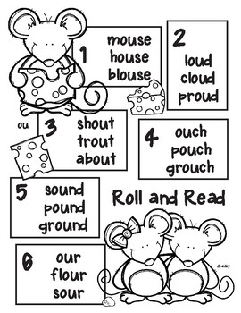 Mouse Buddies Roll and Read - ou