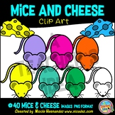 Mouse and Cheese Clip Art Commercial Use