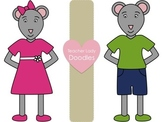 Mouse Clip Art for Personal and Commercial Use