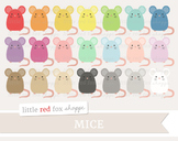Mouse Clipart; Animal, Rat, Mice