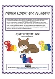 Mouse Colors and Numbers - Learning Centers for Literacy and Math