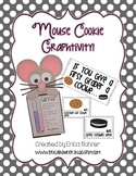 Mouse Cookie Craftivity