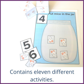 Mouse Count - Math and Language Unit