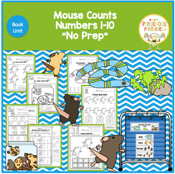Mouse Counts by Ellen Walsh Book Unit