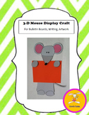 Mouse Craft - for Writing, Bulletin Boards,or Art