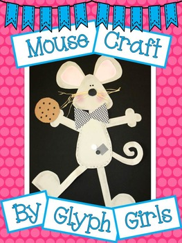 Mouse Craft with Writing Options