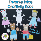 Mouse Craft with Writing Prompts {Kevin Henkes and Laura Numeroff Inspired}