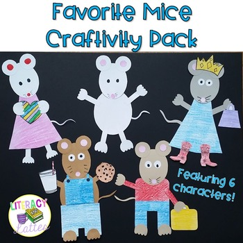 Mouse Craft with Writing Prompts {Kevin Henkes and Laura N