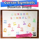 Mouse Cursor Symbols Bulletin Board