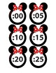 Mouse Ears: Minute-hand labels
