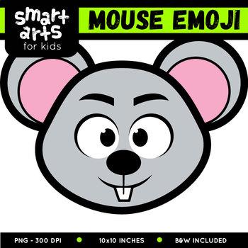 Mouse Emoji Clip Art