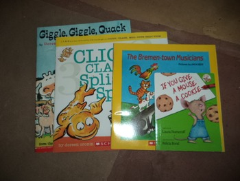 Mouse,Giggle, and click...bremen-town  (set of 4)
