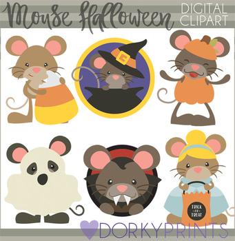 Mouse Halloween Clip Art