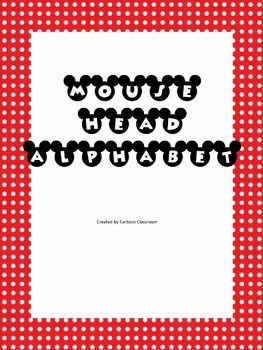 Mickey Head Alphabet 2