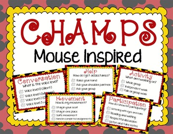 Mouse Inspired CHAMPS Behavior Management