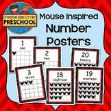 Mouse Inspired Numbers