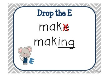 Mouse - Long e: e, ee, ea, ie and Other Literacy Activities